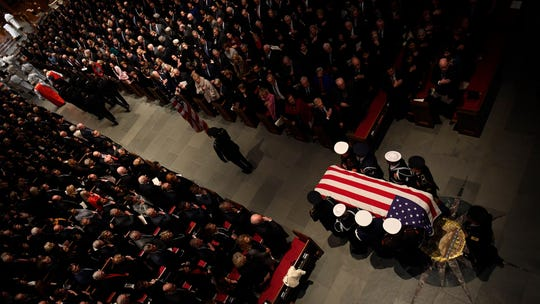 George H.W. Bush's funeral services stand as America's goodbye to the Greatest Generation
