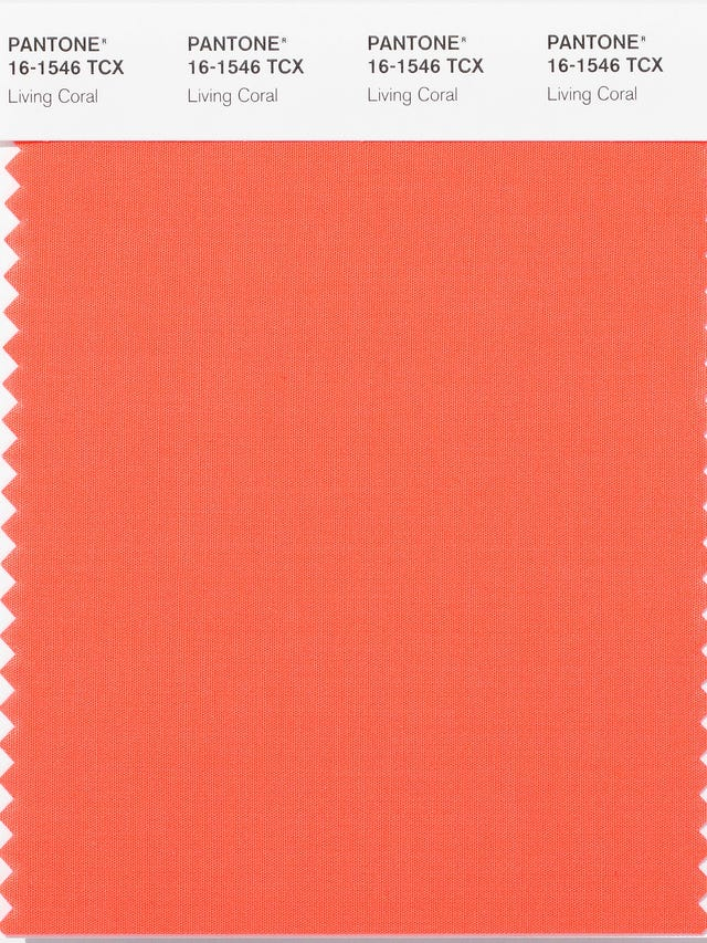 Pantone hopes Living Coral, 2019's color of the year, gives