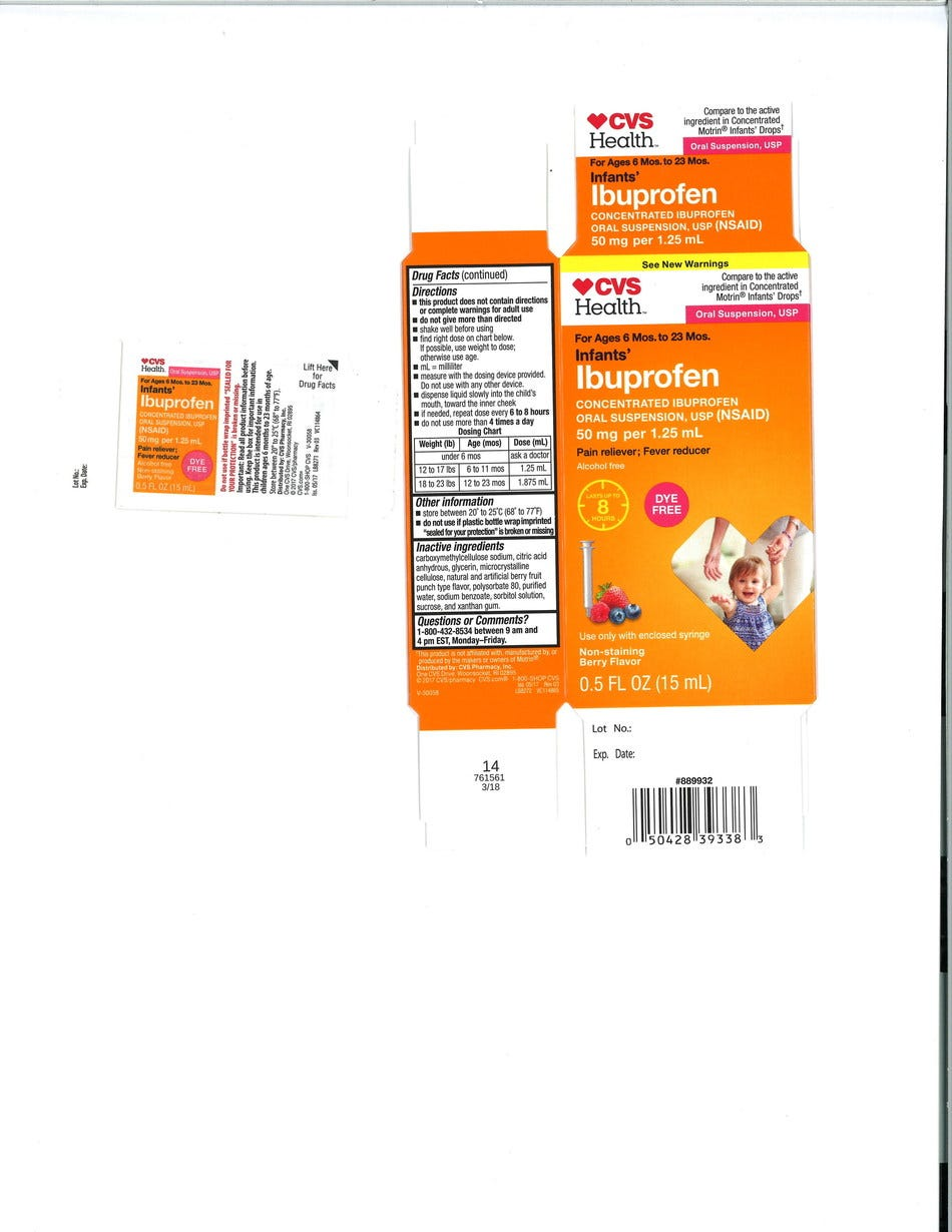 Infant ibuprofen recall: Walmart, CVS Pharmacy and Family Dollar lots impacted