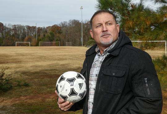 Andy Moore brought up an idea to have a memorial made to honor his late son Parker Killian Moore at the Anderson Sports and Entertainment Center soccer fields in December. The request was made before the Anderson County Council Tuesday, December 4, 2018. His son Parker Moore died in a tragic robbery shooting January 21, 2018, while working at a Barbaritos restaurant in Warner Robbins, Georgia.