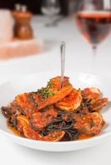 Squid ink fra diavolo will be served on Christmas Eve at Drifthouse by David Burke.