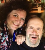 Gerri and Billy Eichele in a recent photo.