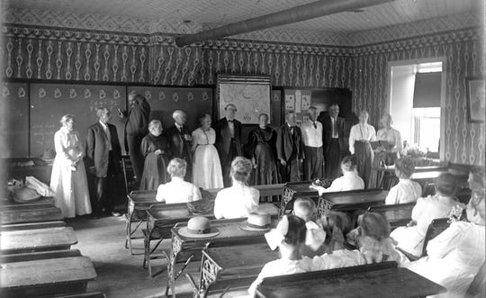 The last day at the Harmonia school.