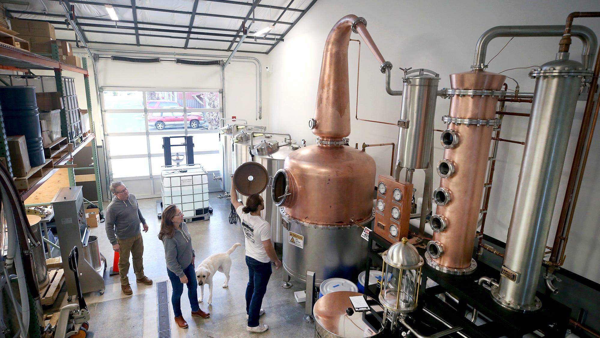 Bainbridge Island's family-owned Highside Distilling blends traditional, modern practices
