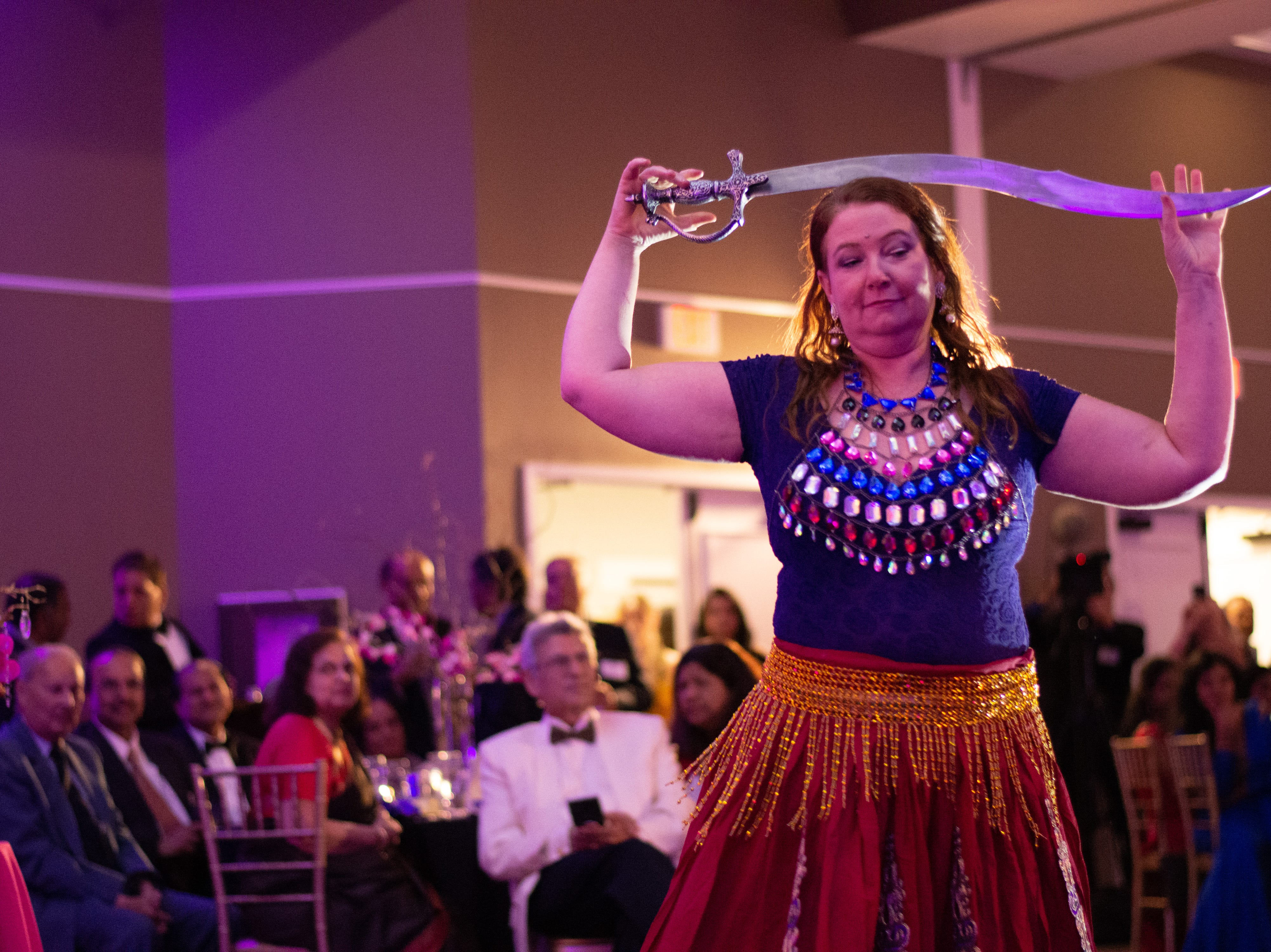 Performers from from the Bollywood Dance Academy perform at the 2018 BIMDA annual dinner and awards ceremony.