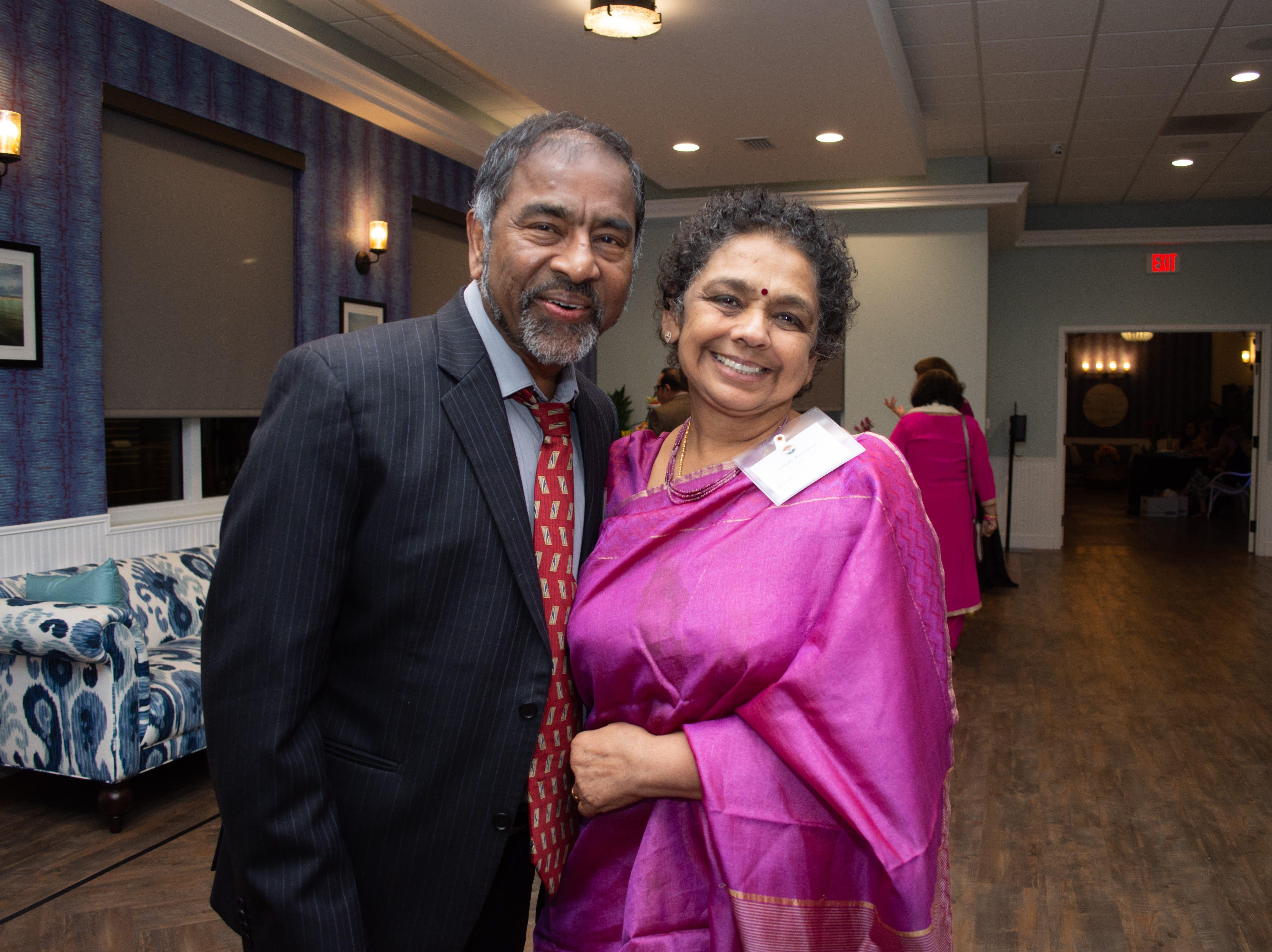 Dr. Ravi Palaniyandi and his wife Ambika Palaniyandi.