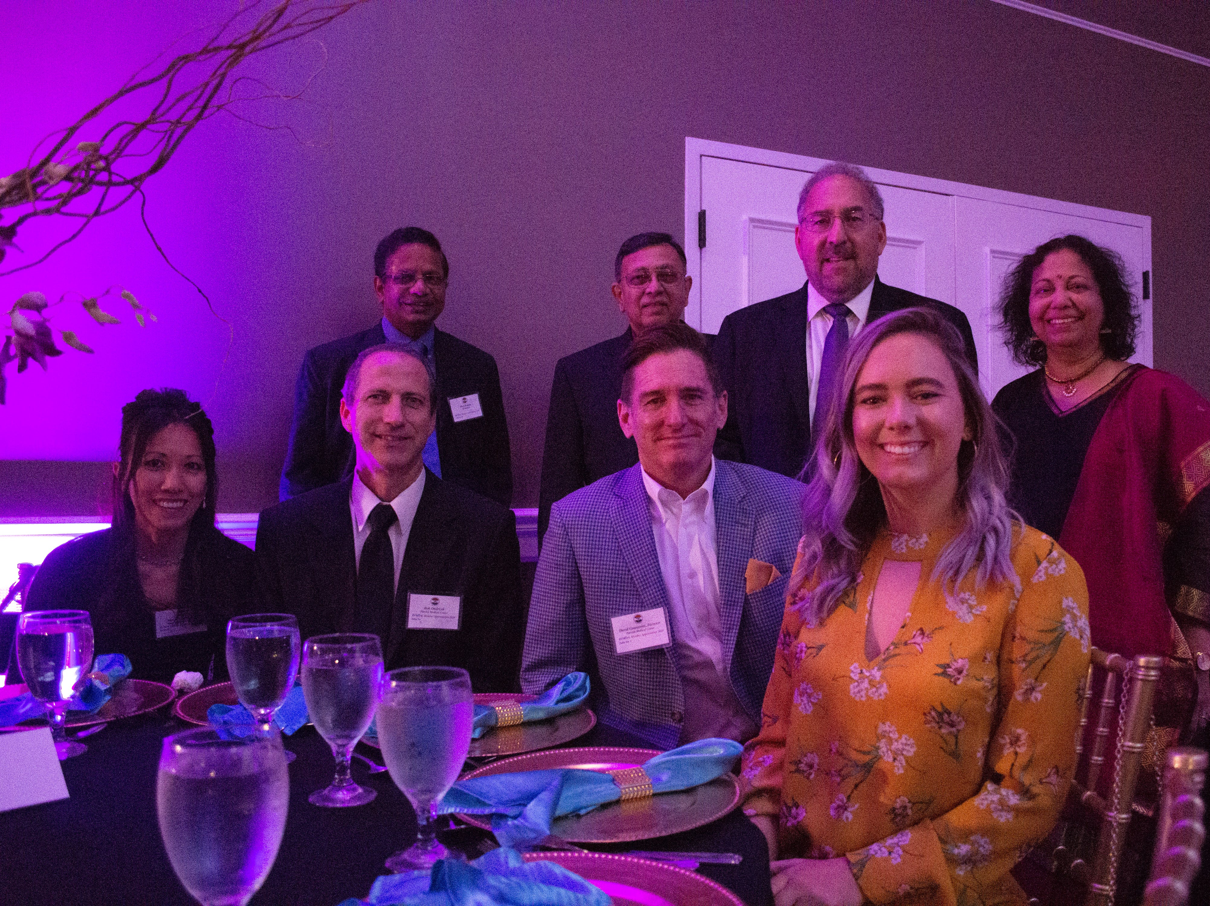 Parrish Medical Center staff and doctors pose for a photo at the 2018 BIMDA annual dinner and awards ceremony.