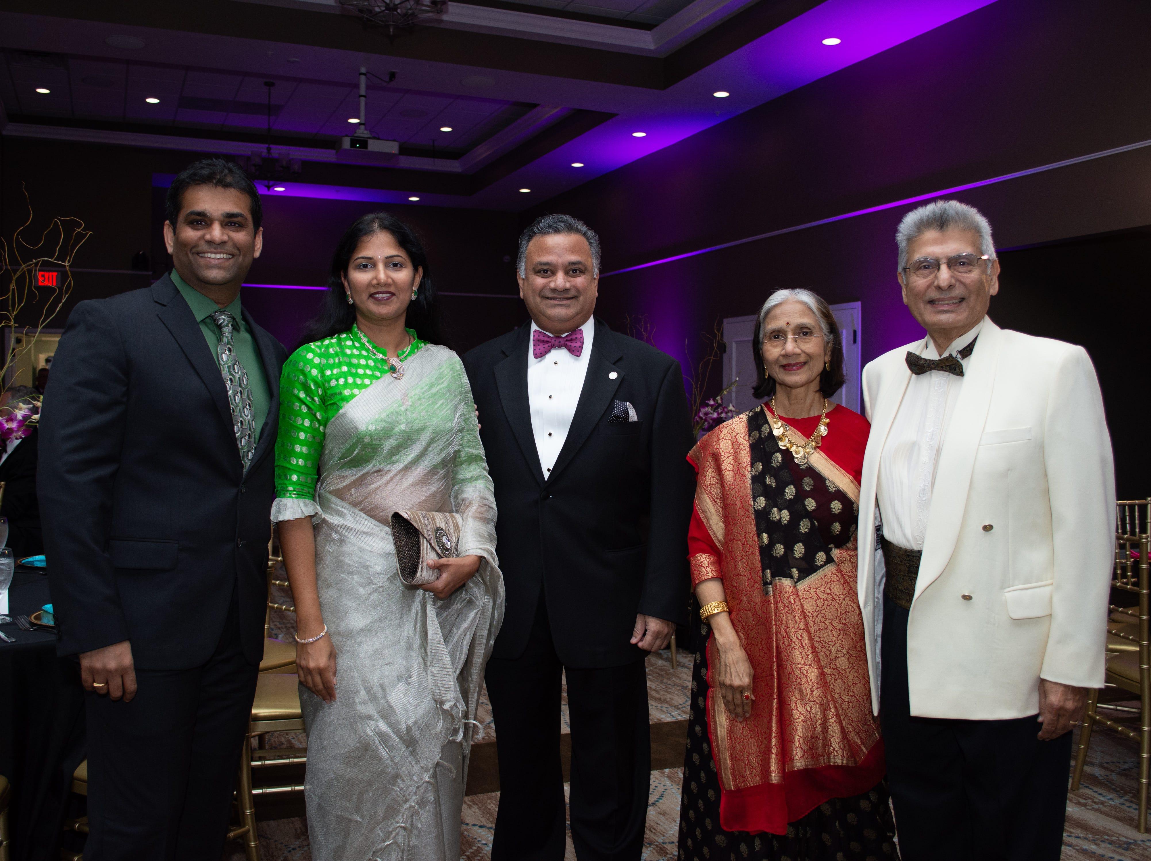 Dr. Pavan Kancharla, Dr. Swetha Reddy, Glad Kurian, Dr. Snehlata Pandya, and Dr. Sumant Pandya.