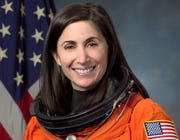 Retired NASA astronaut Nicole Stott will share a true, first-person story as part of a virtual event on Oct. 21.