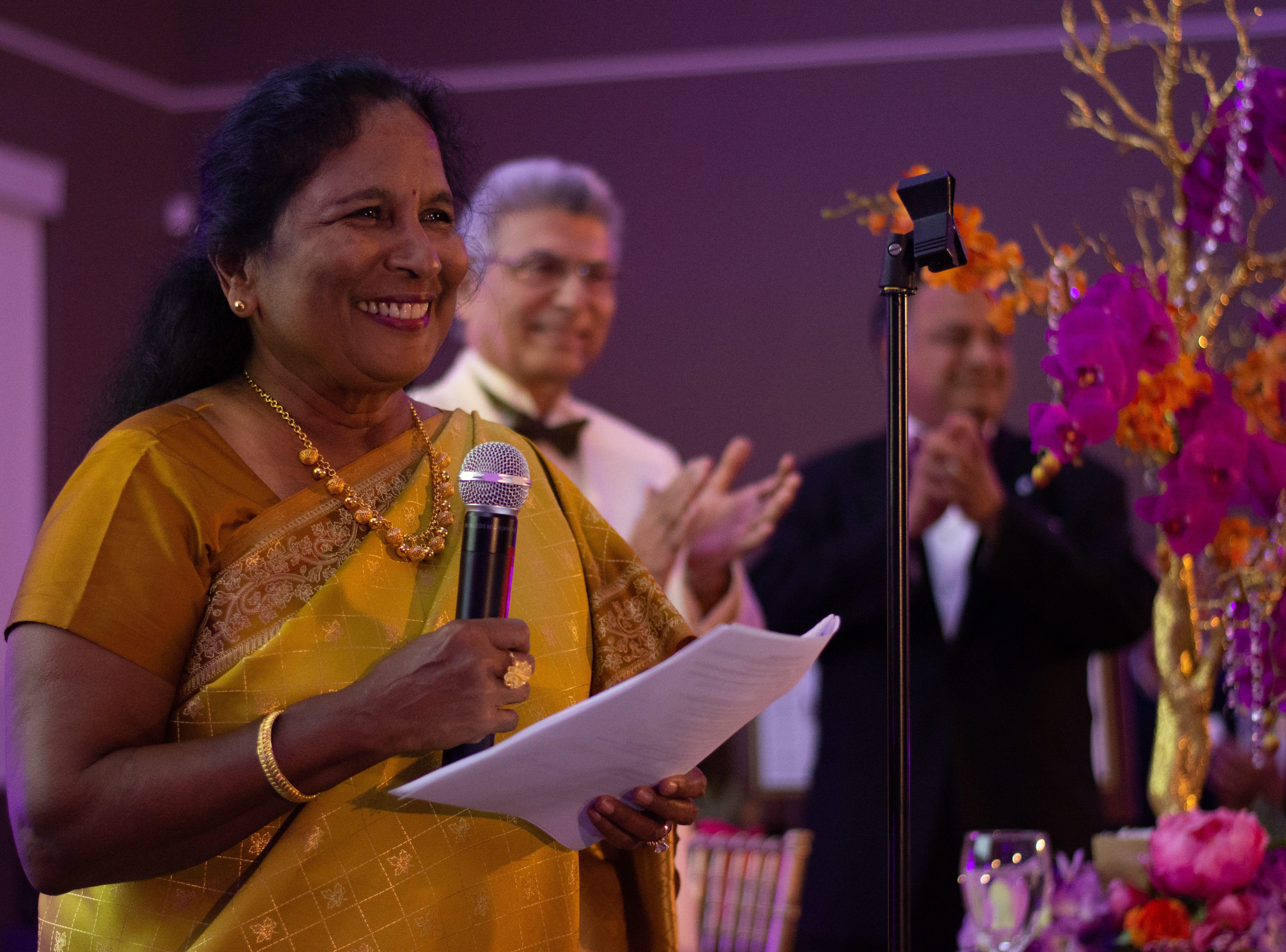 Dr. Aparna Kopuri announces the 2019 BIMDA Team.