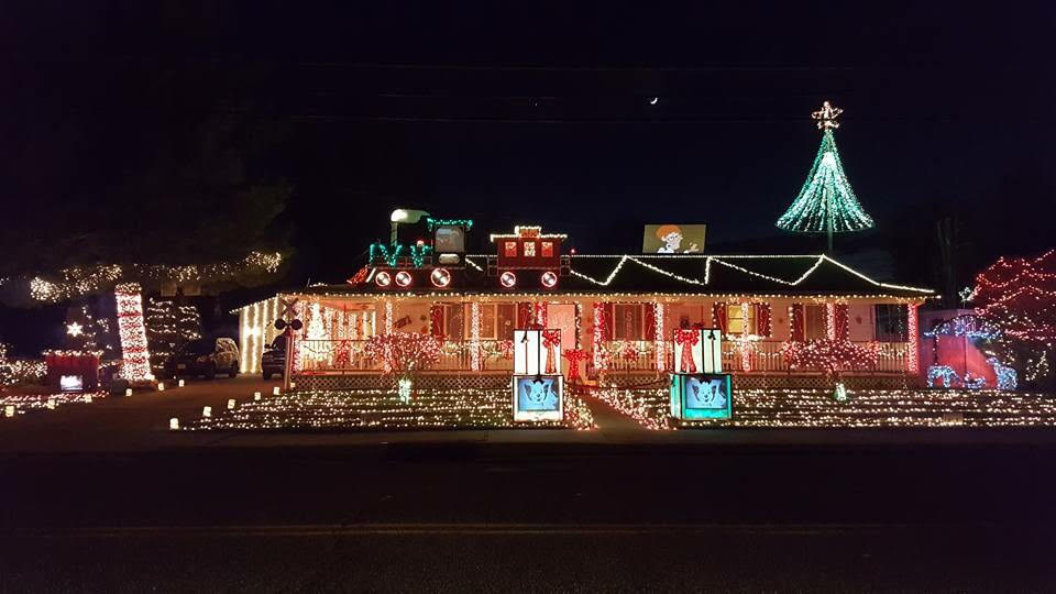 Christmas home lighting Professional This Home In Pennsville Salem County Was Featured On Abcs the Great Christmas Styleblueprint Christmas Lights 2018 Find Best Nj Home Displays Using Google Map
