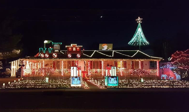 This home in Pennsville, Salem County, was featured on ABC's 'The Great Christmas Light Fight.'