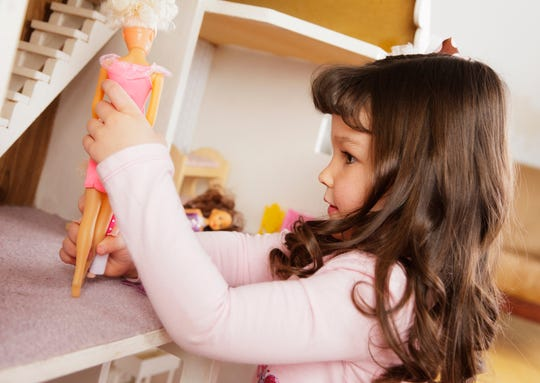 Kids can build their own dollhouses at a winter break camp at the ARTery in Medford