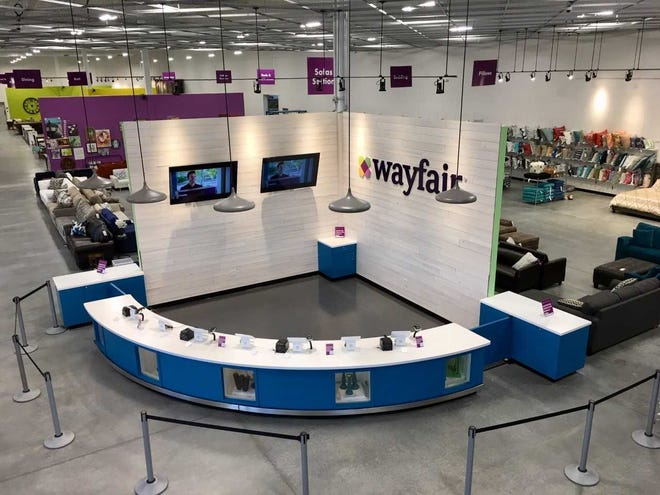 Wayfair is opening an outlet store at 5101 Renegade Way in Florence. Its soft opening is Dec. 7.