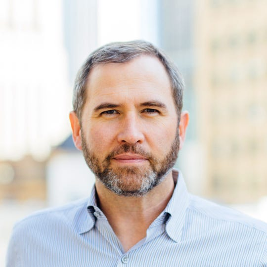 Brad Garlinghouse, CEO of Ripple, a cryptocurrency company.