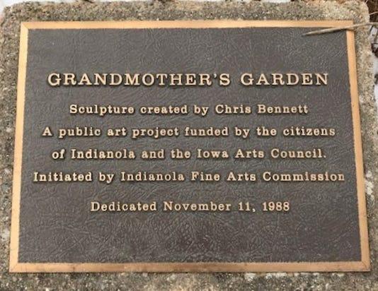 A Grandmothers Garden Plaque