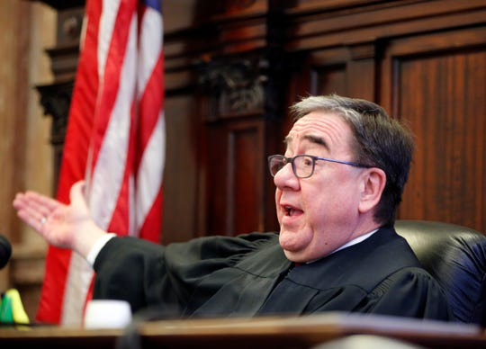 "Polk County (Iowa) Judge Michael Huppert ruled Tuesday, Jan. 22, 2019, that Iowa's ""fetal heartbeat"" law violates the Iowa Constitution and may not be enforced."