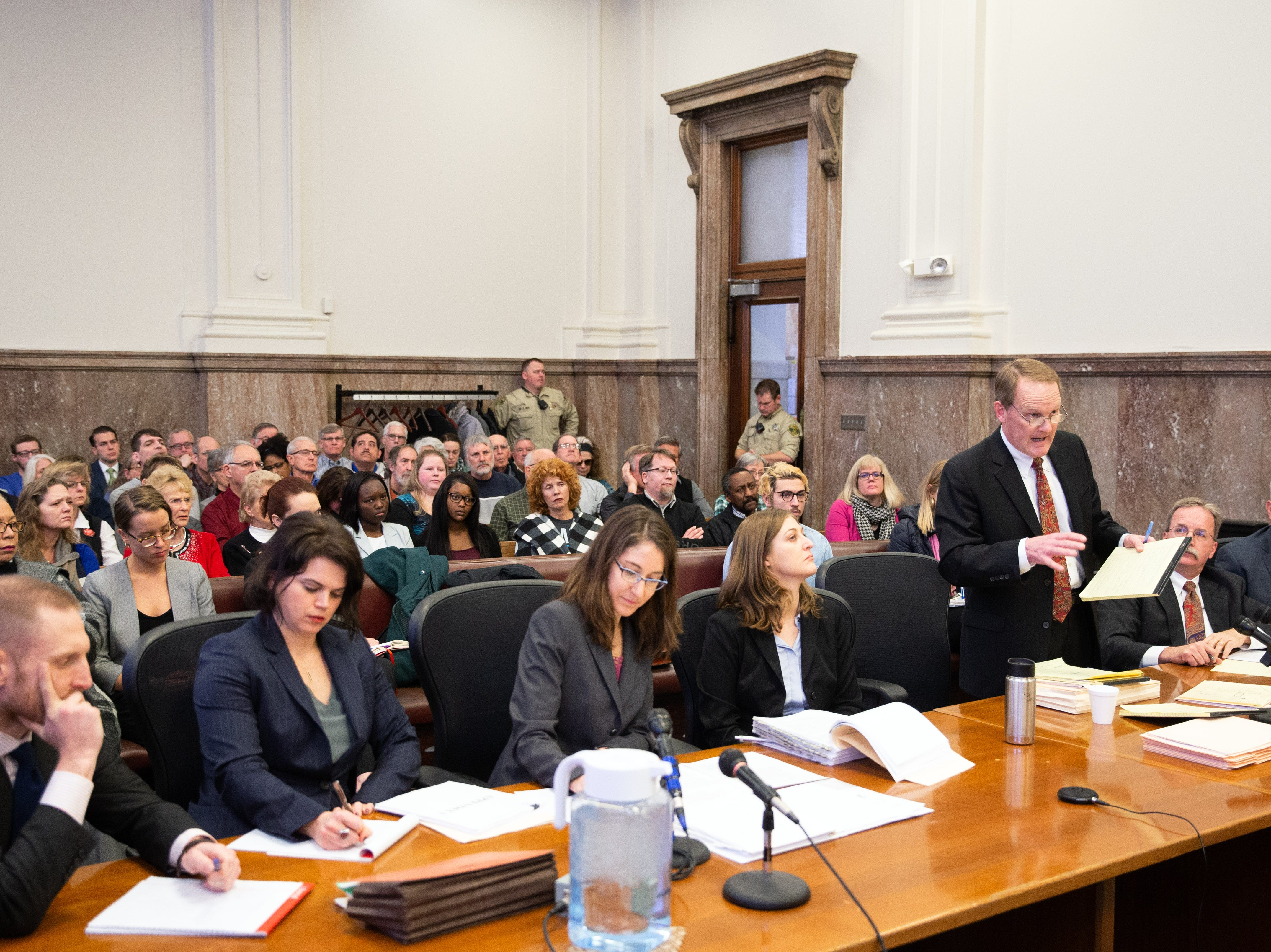 Activists pack Iowa courtroom as judge hears arguments over tossing 'fetal heartbeat' abortion law