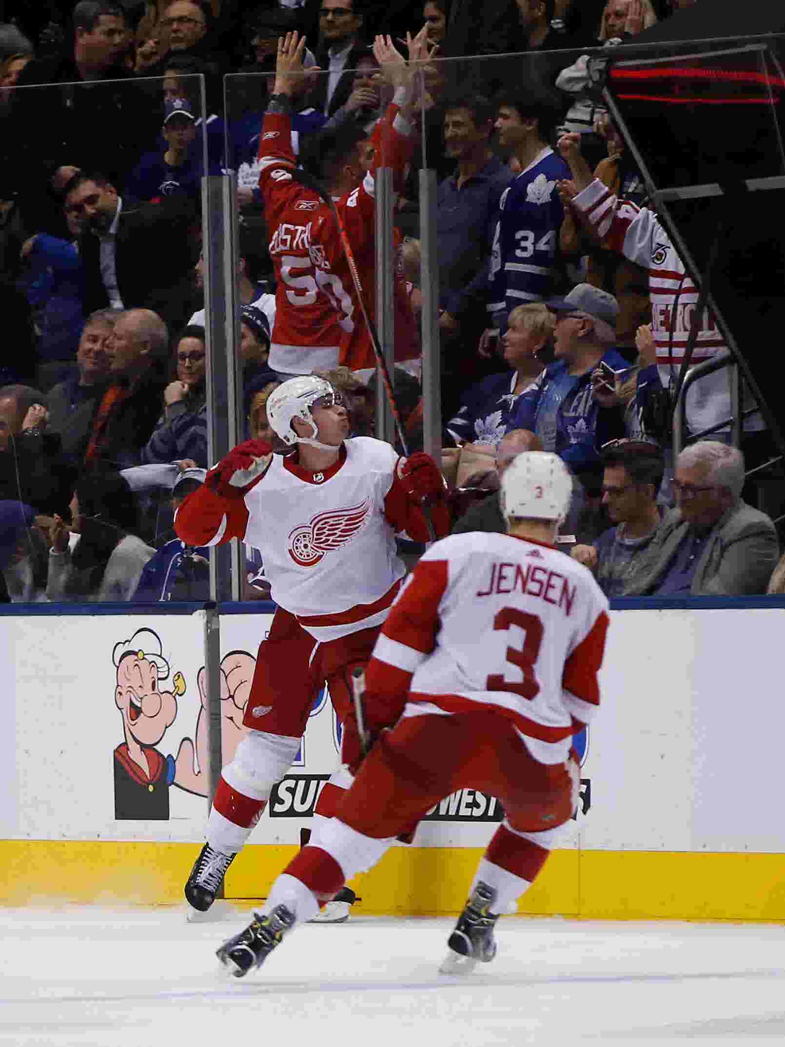 Detroit Red Wings  Gustav Nyquist on scoring surge with Anthony Mantha out a703e53d5