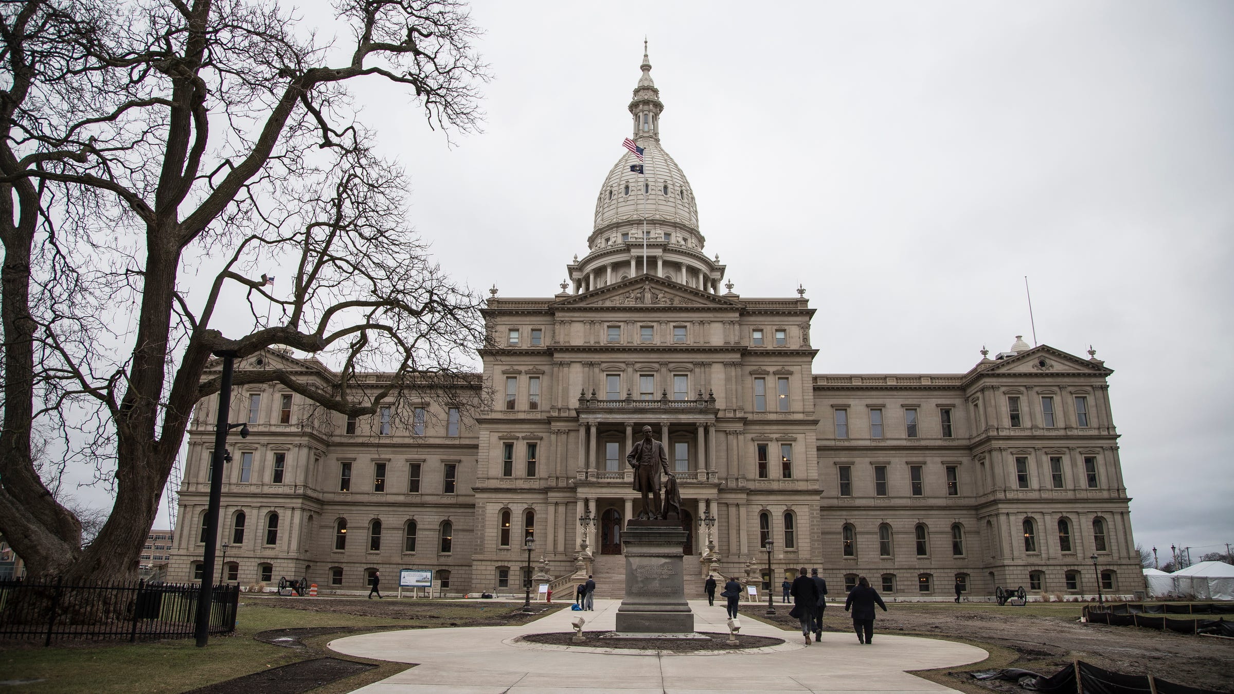 Michigan State Capitol in Lansing on Tuesday, January 23, 2018.