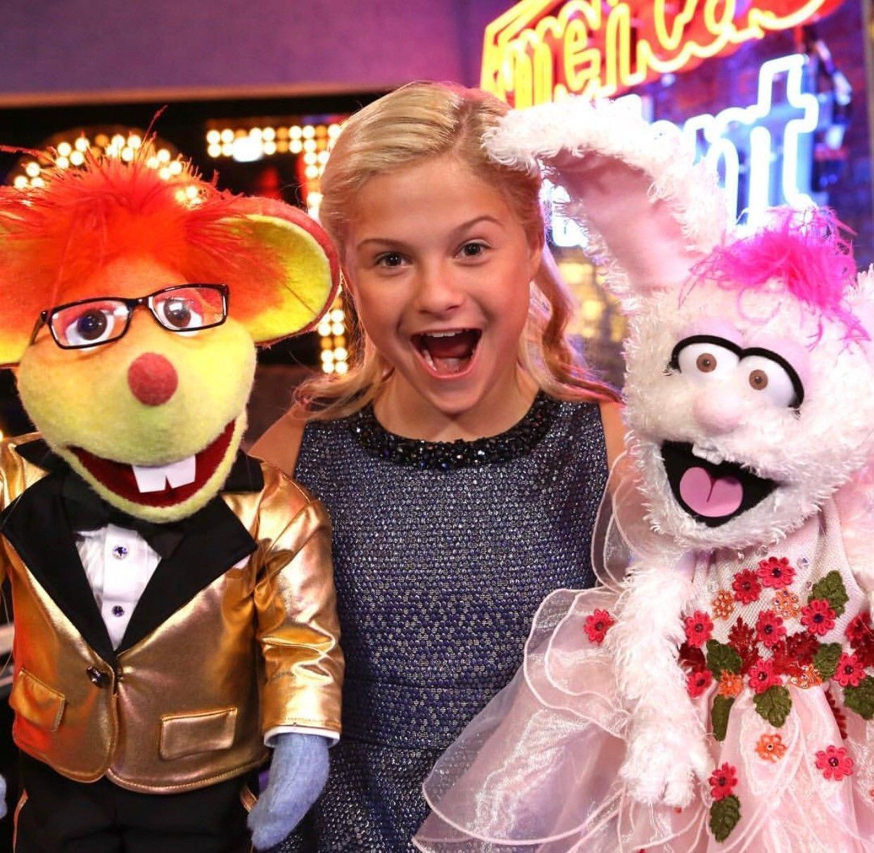 "Ventriloquist Darci Lynne Farmer stars in the holiday special ""My Hometown Christmas"" at 9 p.m. Tuesday on NBC."