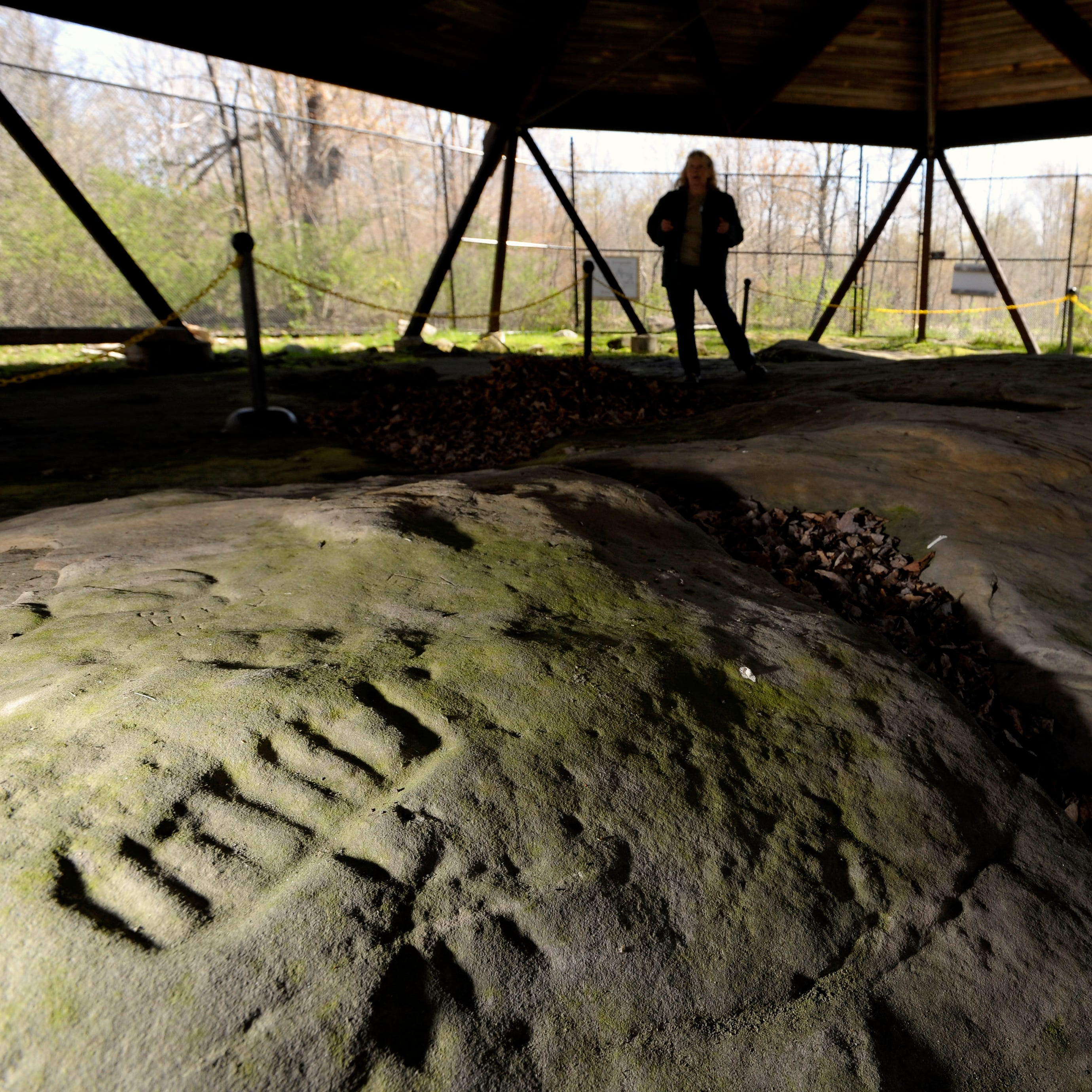 MDOT helps record, preserve ancient tribal rock carvings