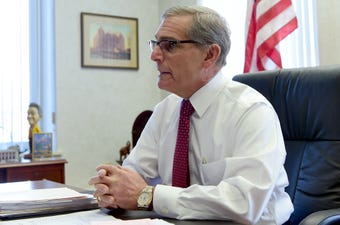 After 18 years as the top elected official in Chemung County and decades of public service, Tom Santulli remembers when he first ran for office.