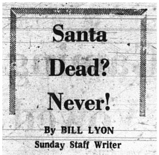 Headline referencing the helicopter crash that killed two in North Park Dec. 8, 1967.