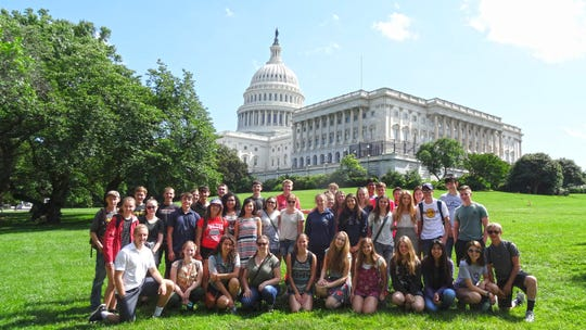 Each summer, PVREA hosts and coordinates two leadership trips for high school juniors and seniors — the Cooperative Youth Leadership Camp and the Washington Tour.