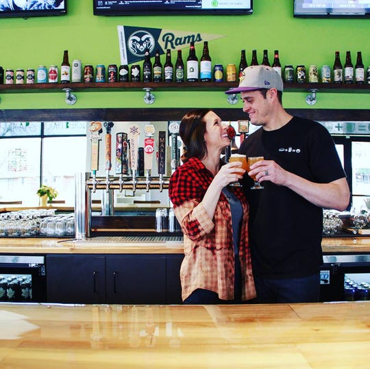 Lauren and Shawn Storeby are the owners of Snack Attack.