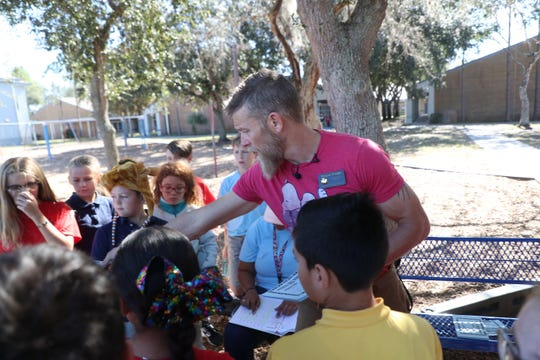 "Diplomat Elementary School teacher Morgan Wright, also known as Morgan the ""Moose"" on  the TV show ""American Ninja Warrior"" has implemented Ninja Warrior-style exercises into his teaching methods.."
