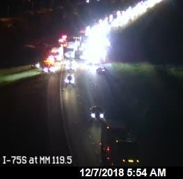 TRAFFIC ALERT: Lanes reopen following I-75 south crash near Corkscrew