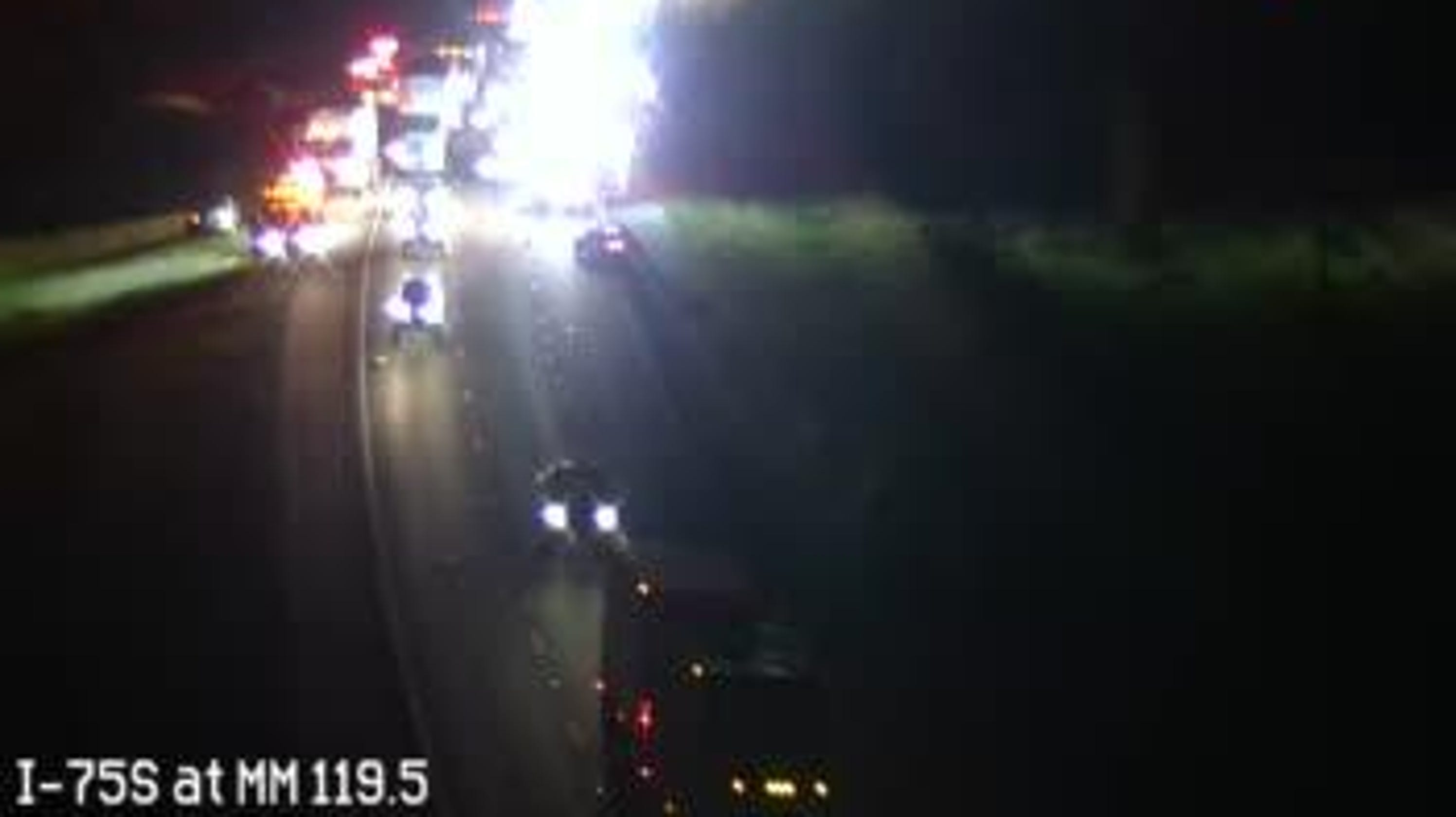 TRAFFIC ALERT: Crash on I-75 South near Corkscrew Road cleared