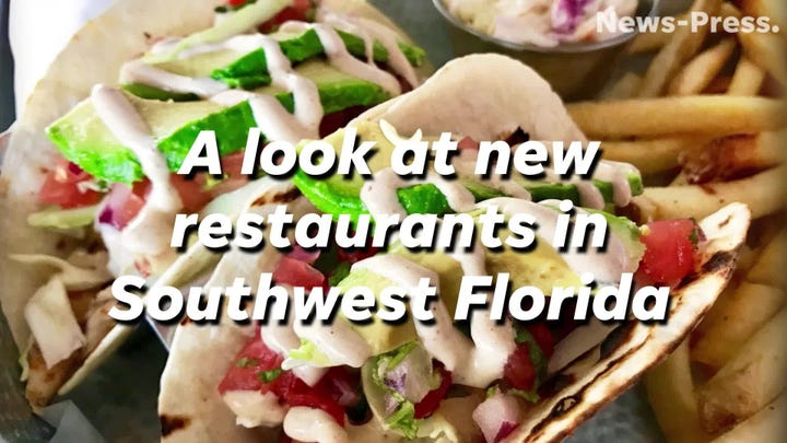 Video: A look at new and coming-soon restaurants in Southwest Florida