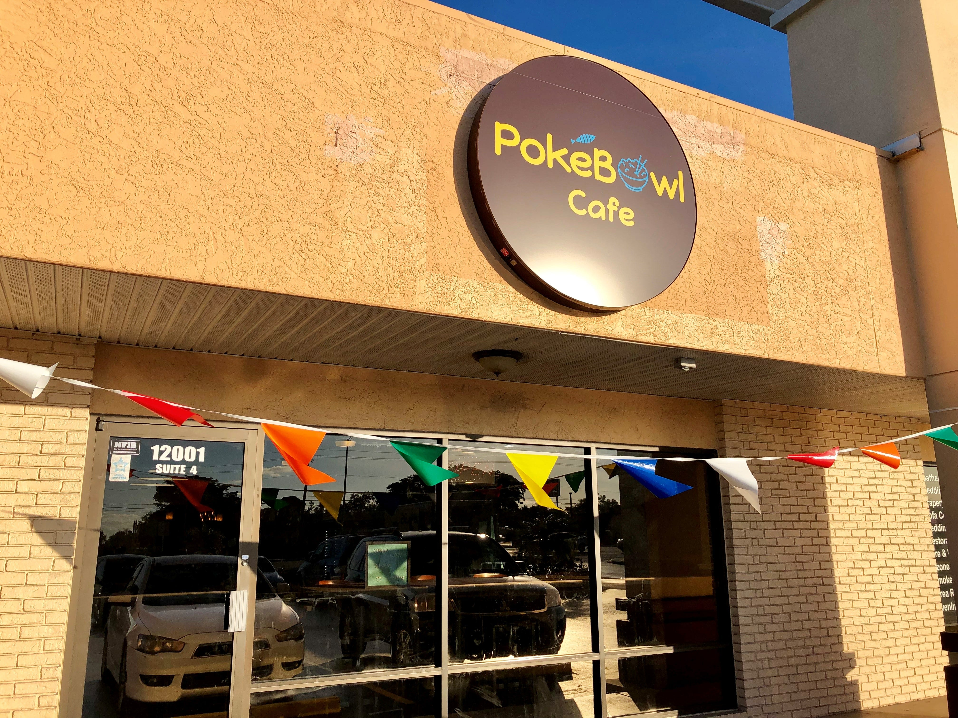 PokeBowl Cafe opened in November in the former PrimoHoagies space near Te Villas in Fort Myers.