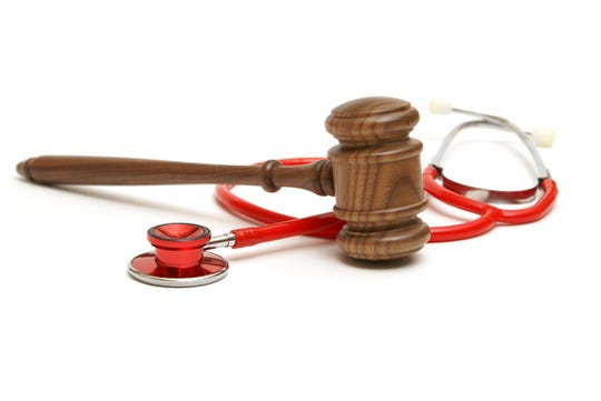 A concept related to a medical lawsuit in the legal system.