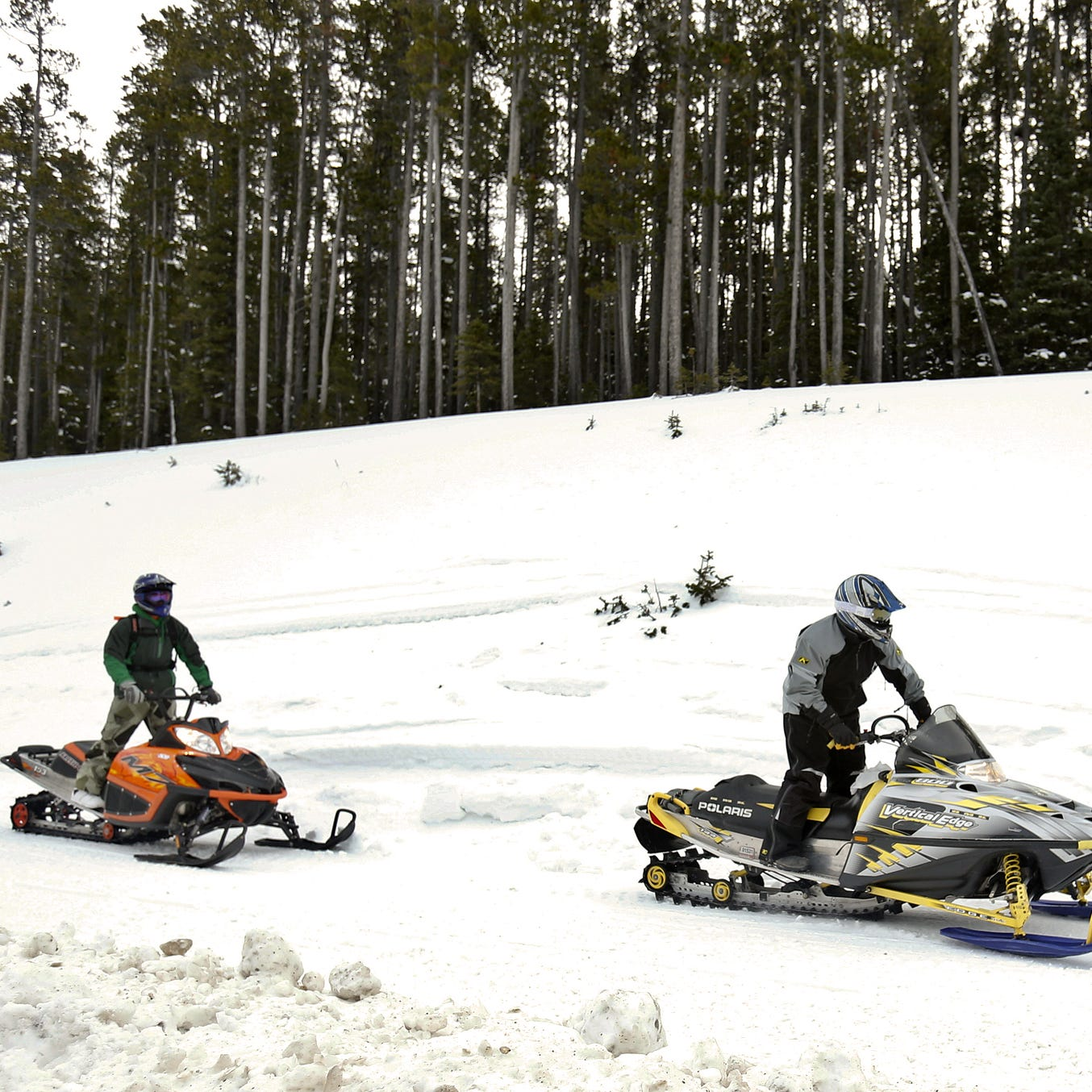 Outdoors briefs: Snowmobile trails and roads closed down for weekdays