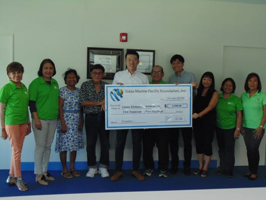 Tokio Marine Pacific Donation 2018