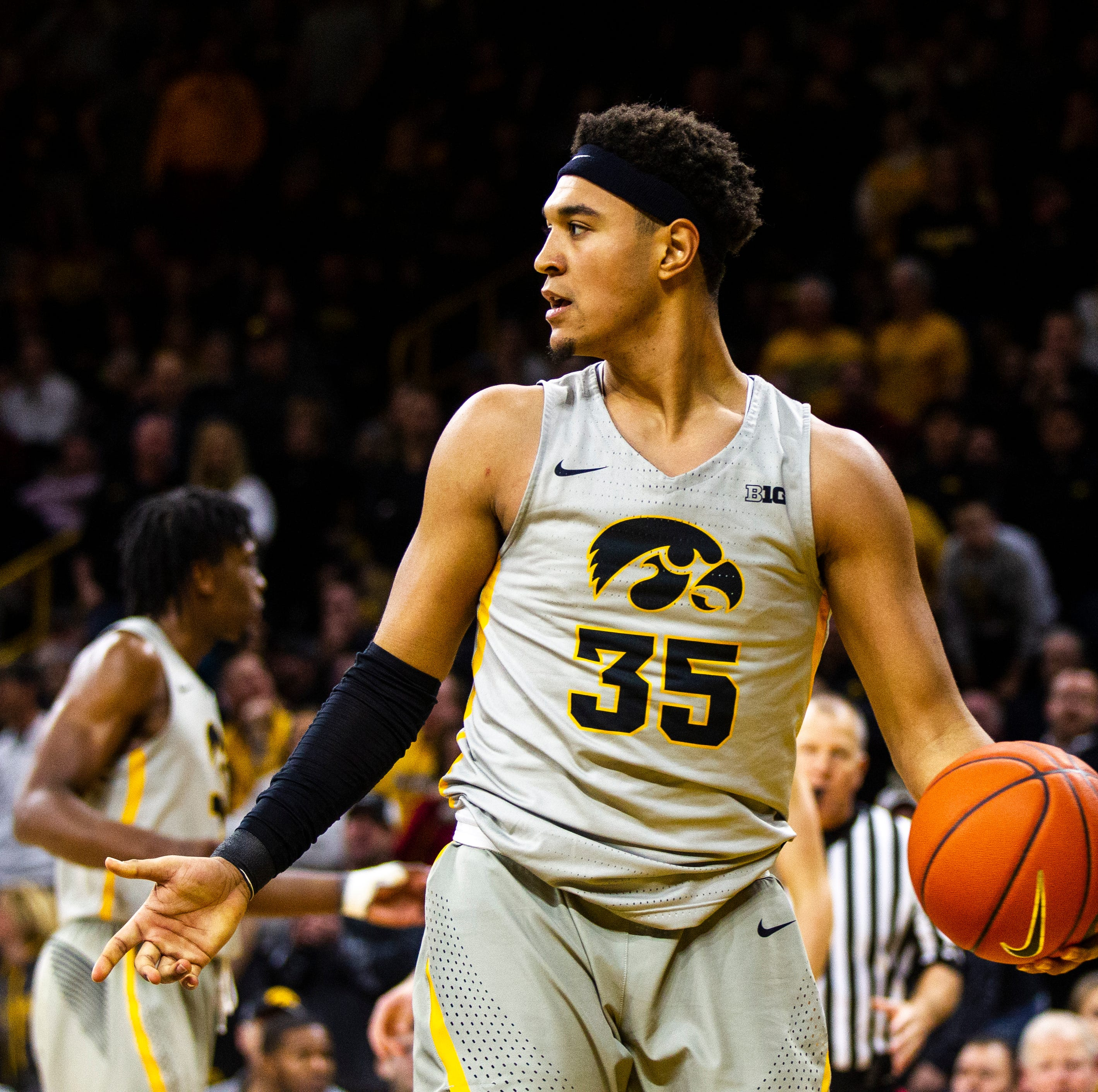 Iowa basketball: Cordell Pemsl out for Hy-Vee Classic