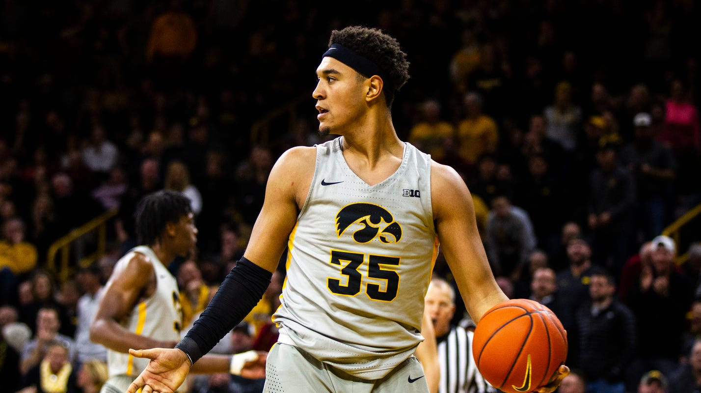 Iowa Hawkeyes basketball player Cordell Pemsl cited for operating while intoxicated