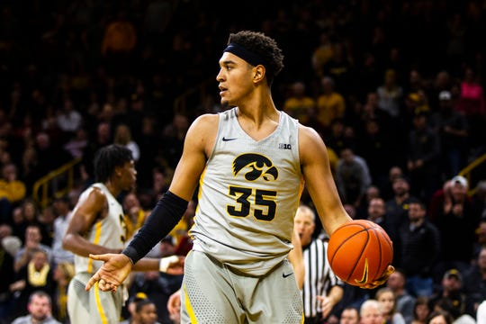 Cordell Pemsl hasn't played a game for the Hawkeyes since a surprise appearance Dec. 6, 2018, against Iowa State.