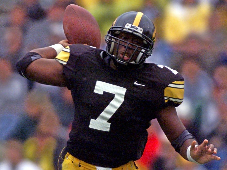 From 2002: Iowa quarterback Brad Banks