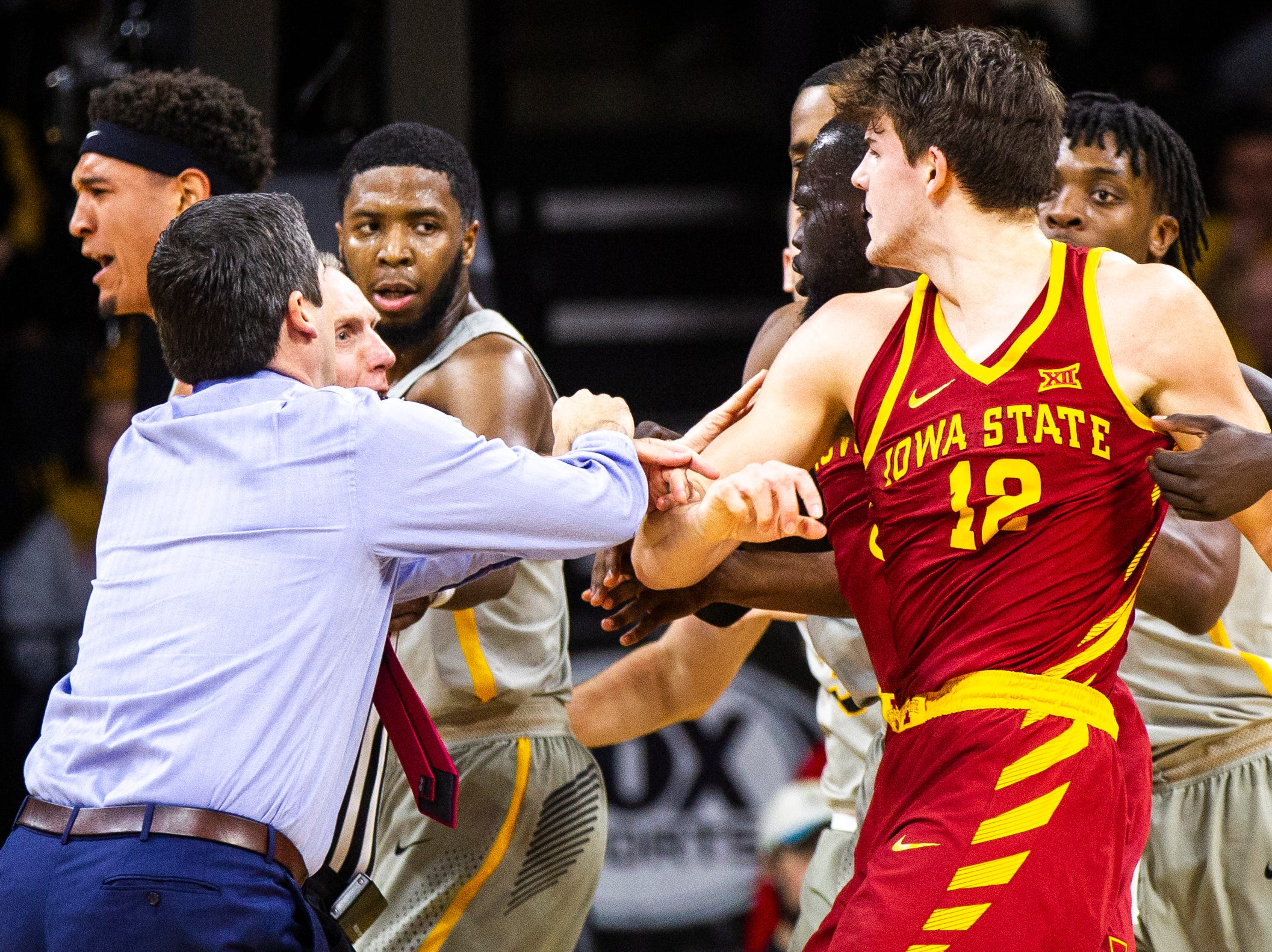 Here's what Iowa, Iowa State had to say about the on-court feuds in Cy-Hawk matchup