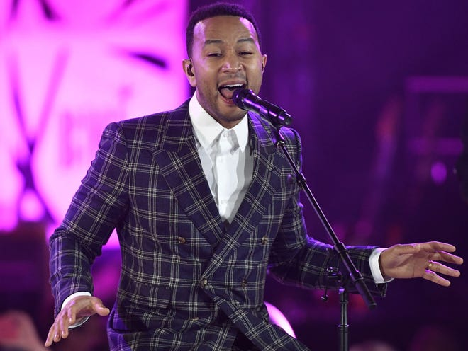 John Legend will perform Dec. 10 at the Murat Theatre in Old National Centre.