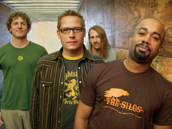 Hootie & the Blowfish will perform Aug. 17 at Ruoff Home Mortgage Music Center.
