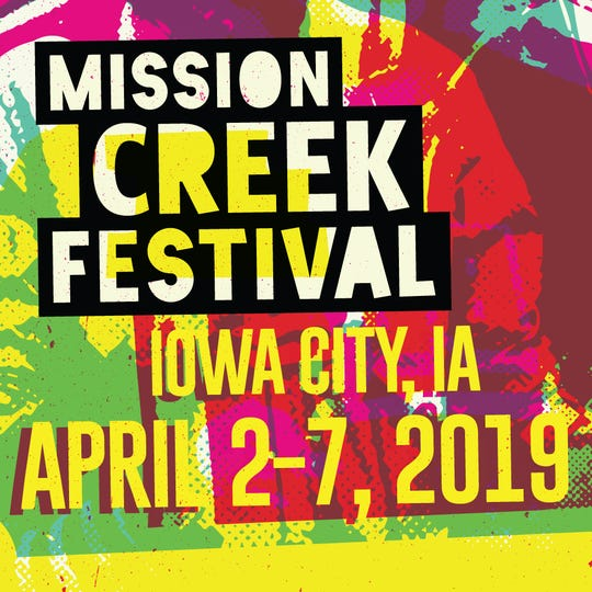 A Mission Creek Festival 2019 logo.