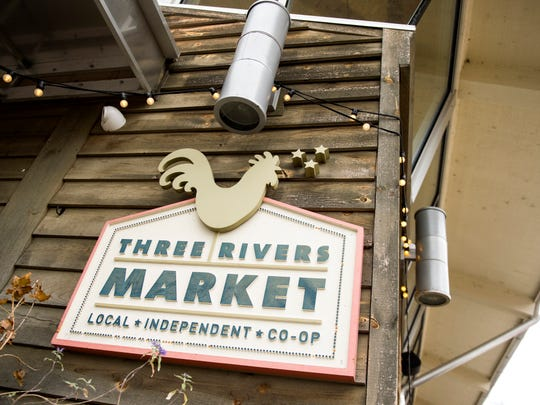 Three Rivers Market in the Happy Holler area of Knoxville.