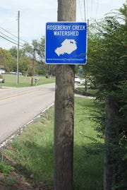 People who live within areas marked by these signs are eligible for state aid to septic systems and farm management practices. March, 2017.