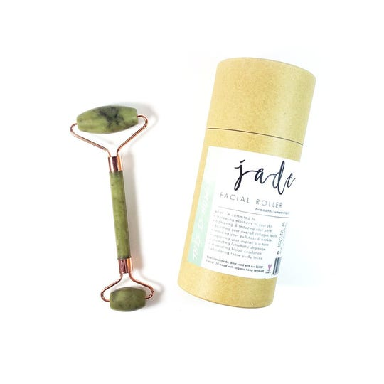 The Honey Bell Jade Facial Roller is a hot wellness gift this year and is available at Fresh Kale Bath Co. in Knoxville's West Town Mall.