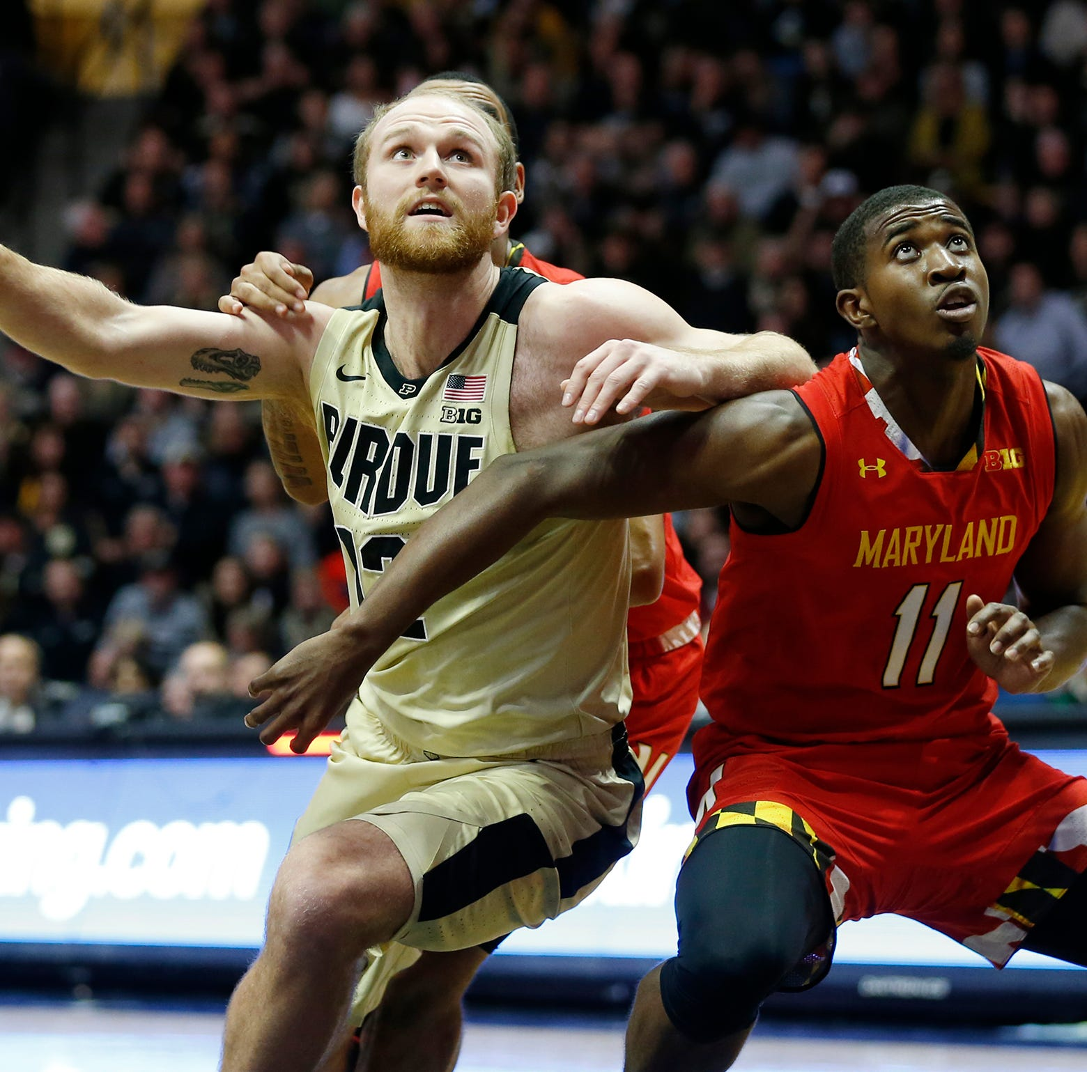 Purdue basketball's Grady Eifert and Evan Boudreaux growing into unexpected roles